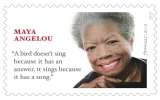 ROSSIN CREATES MAYA ANGELOU FOREVER STAMP
