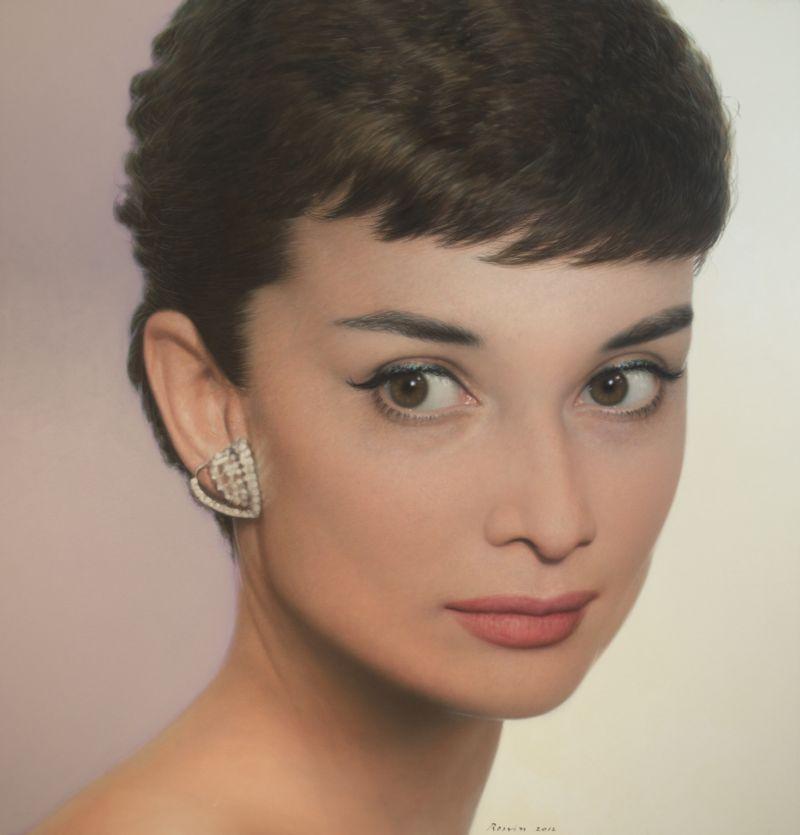 Rossin Art Studio Audrey Hepburn